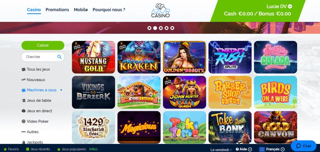Azur casino avis : pourquoi miser sur cette plateforme ?
